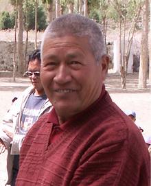 Lama Zotpa, Gründer der Schule im Nubratal
