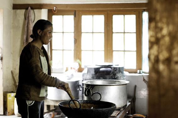 Kochen der Mahlzeiten