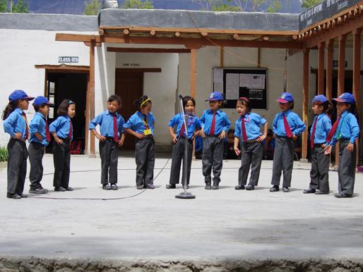 Schüler der Lamdon School_2013