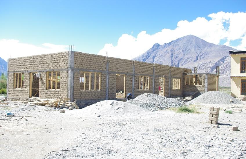 bericht-13-6 Bau des Gemeinschaftshauses
