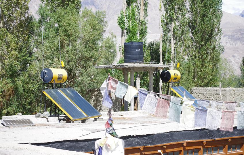 chronik22- Solaranlagen liefern Energie