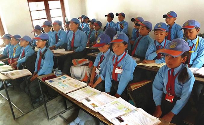 Lamdon School Diskit, Schule_Ausstattung_2013
