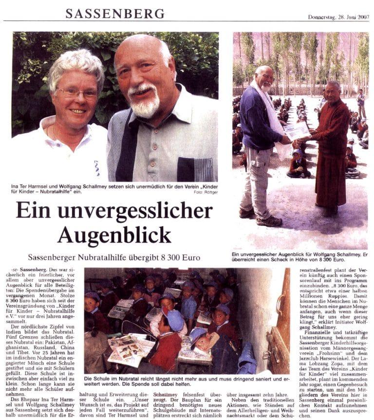 Zeitungsartikel-2007