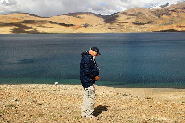 Wanderung am Salzsee