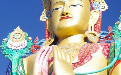Maitreya-Statue, Kloster Diskit